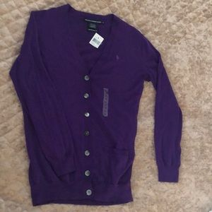 Ralph Lauren Cardigan NEW